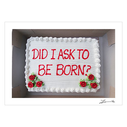 DID I ASK TO BE BORN | Tammy David