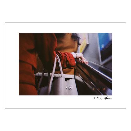 RED COAT #2   E.S.L Chen