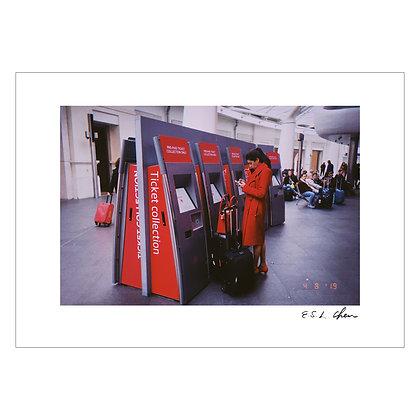 RED COAT #3 | E.S.L Chen