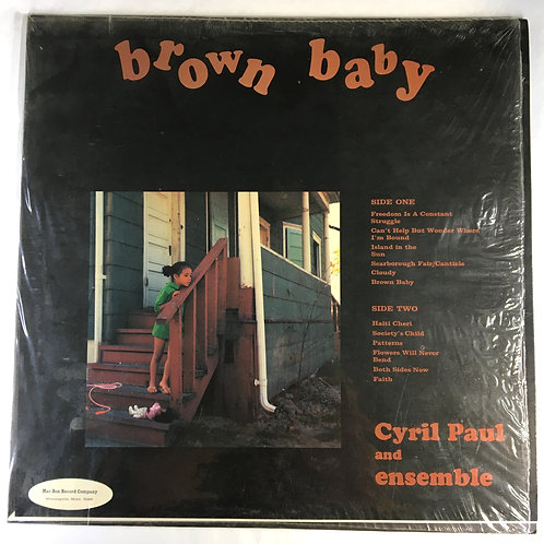Cyril Paul and Ensemble - Brown Baby