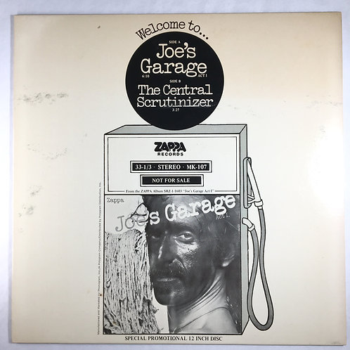 Frank Zappa - Joe's Garage/The Central Scrutinizer