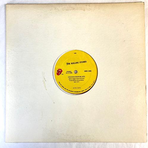 """Rolling Stones - C*cksucker Blues / Brown Sugar 12"""" Single"""