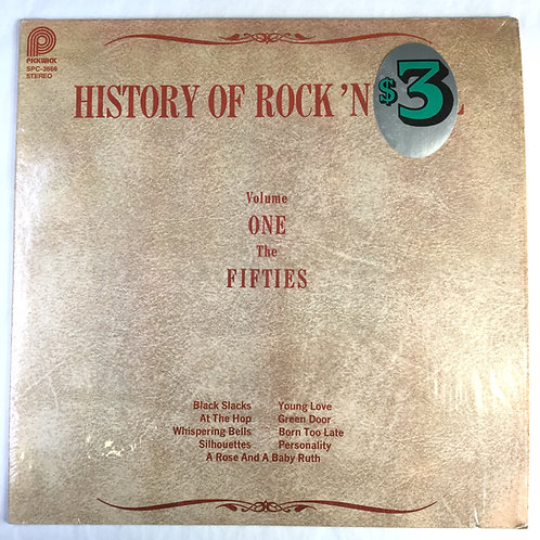 Various - History of Rock 'N' Roll Volume One The Fifties