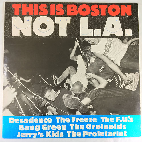 Various - This is Boston Not L.A.