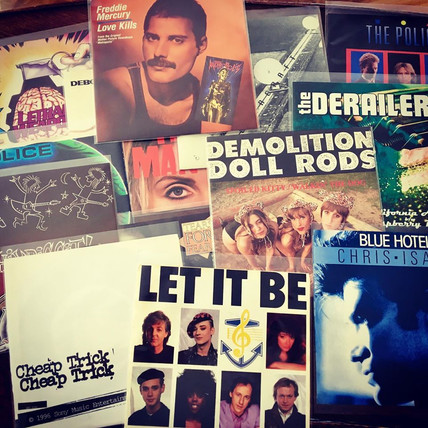 Bargain LPs, 45s & Other Media