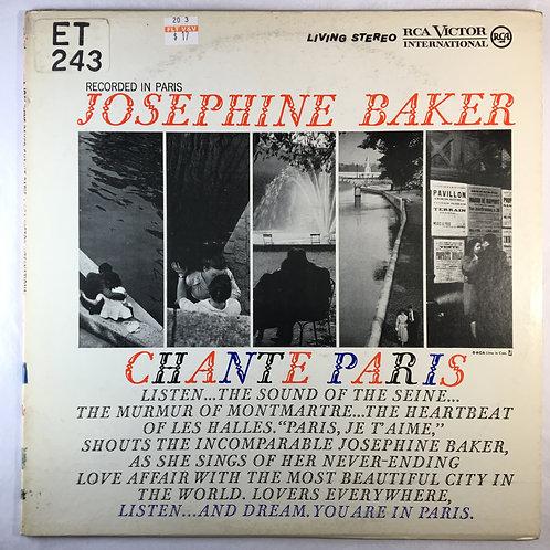 Josephine Baker - Chante Paris