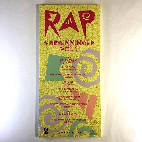 Various - Rap Beginnings Vol 1