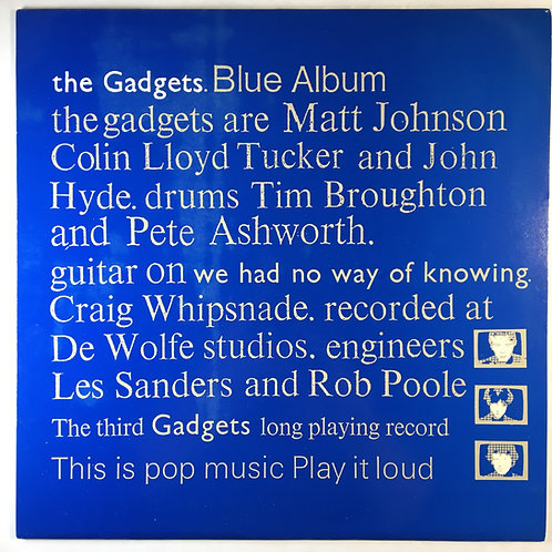 The Gadgets - Blue Album
