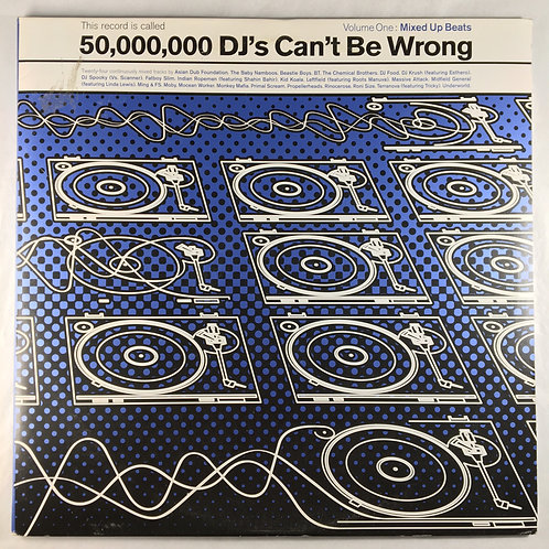 Various - 50,000 DJ's Can't Be Wrong