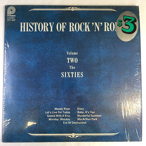 Various - History of Rock 'N' Roll Volume Two - The Sixties