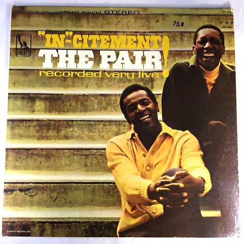"""Pair, the - """"In""""-citement: The Pair Recorded Very Live!"""