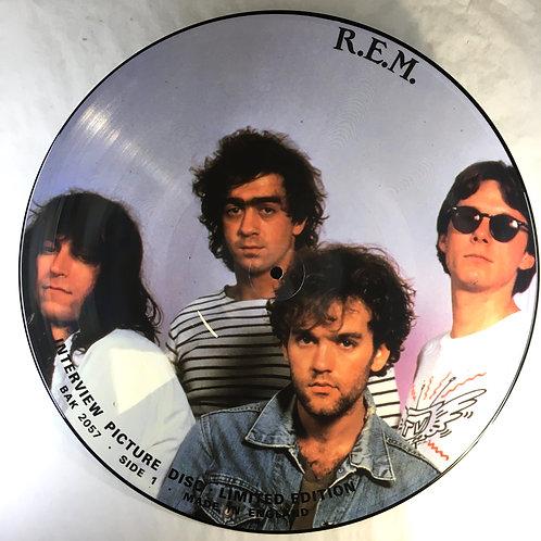 R.E.M. - Interview Picture Disc