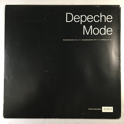 """Depeche Mode - Everything Counts 10"""" Single"""