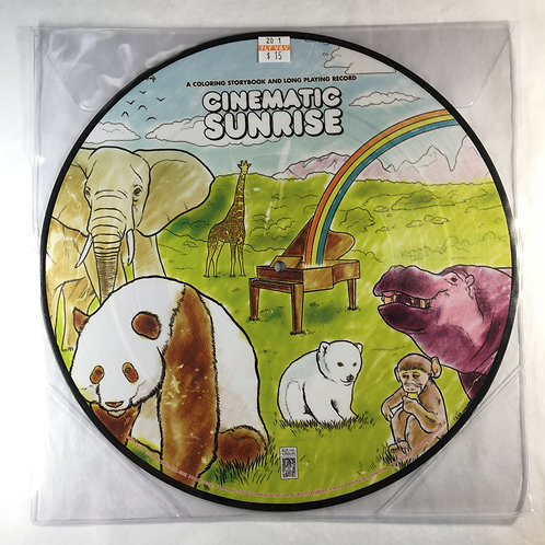 Cinematic Sunrise - A Coloring Storybook and Long Playing Record