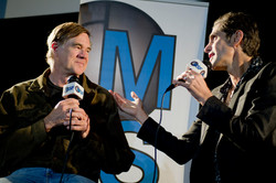 Gus Van Sant and Perry Farrell