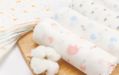 Embossing Cotton Handkerchief