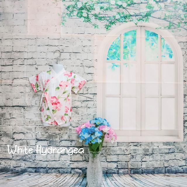 White Hydrangea Romper