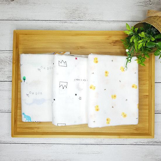 Embossing Gauze Cotton Swaddling Blanket
