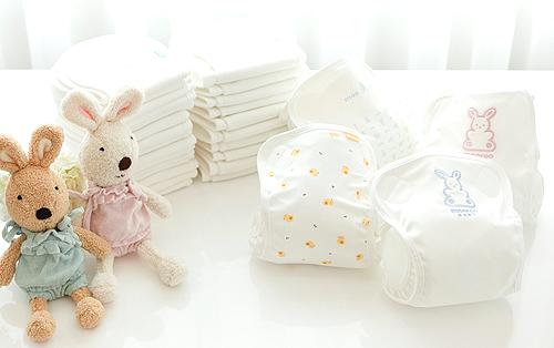 Peanut Shape Cloth Diaper