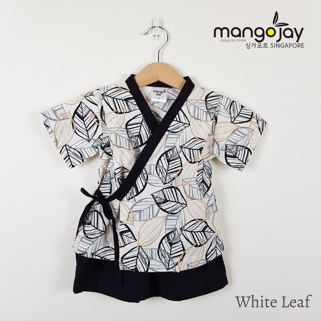 White Leaf Shirt & Pants