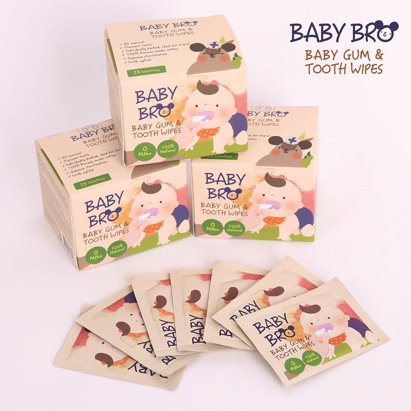 BabyBro Gum & Tooth Wipes