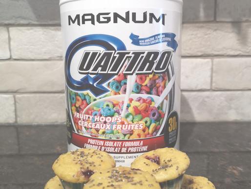 Magnum Quattro Lemon Raspberry Mini-Muffins