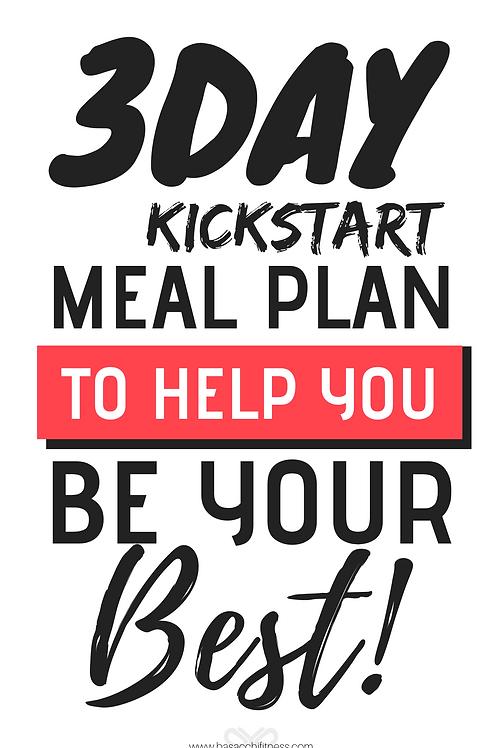 3 Day Kickstart Meal Plan