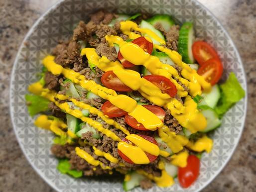 Classic Hamburger Salad