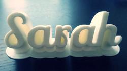 Name Tag - Sarah