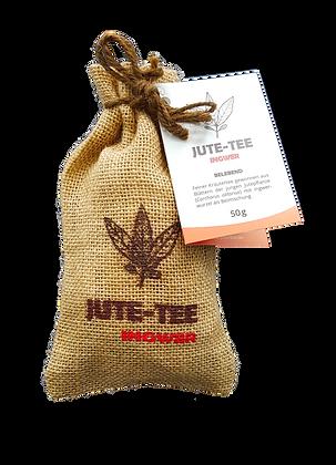 Jute-Tee Ingwer Jutesäckchen