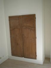 Insertion de porte ancienne