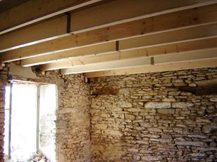 Rénovation poutres plafond
