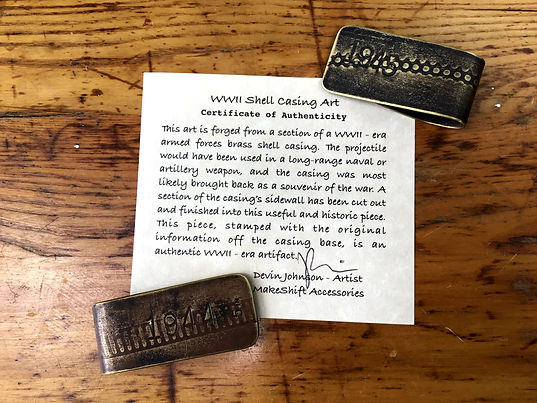 WWII Money Clips