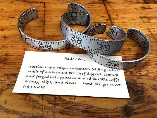 Ruler Cuffs