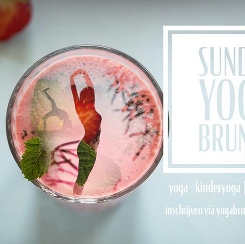 Sunday Yoga Brunch - 19 mei