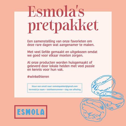 Beleef Esmola bij je thuis
