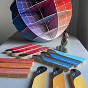 Colour matching tools for Personal Colour Analysis at The Colour Clinic