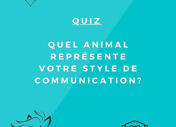 Quiz : quel animal représente votre style de communication