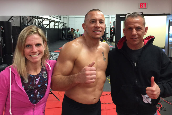 Georges St-Pierre Photoshoot