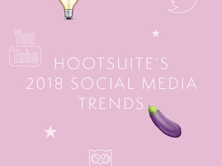 2018 Social Media According to Hootsuite