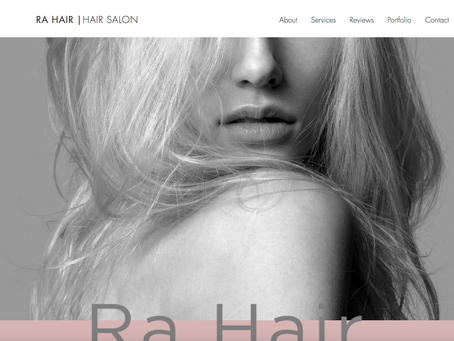 Our Work 👩💻 ra-hair.co.uk