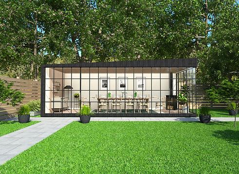 garden dining room heated garden room with insulation united kingdom.jpg