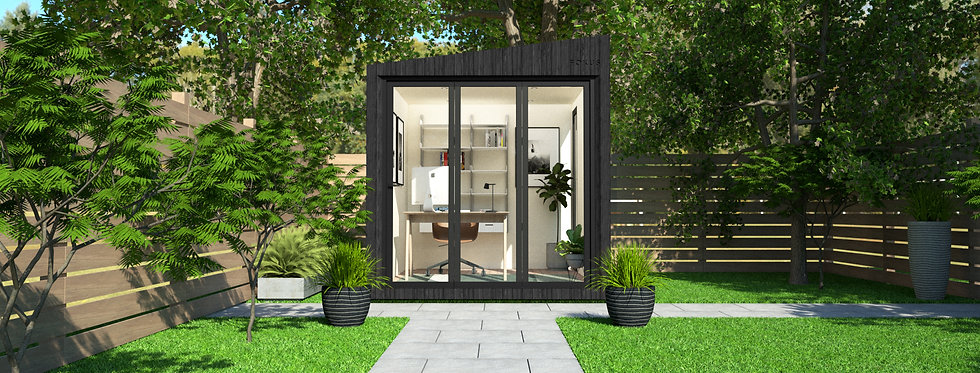 Insulated Garden Room with Floor-to-Ceiling Windows   2.4m x 3