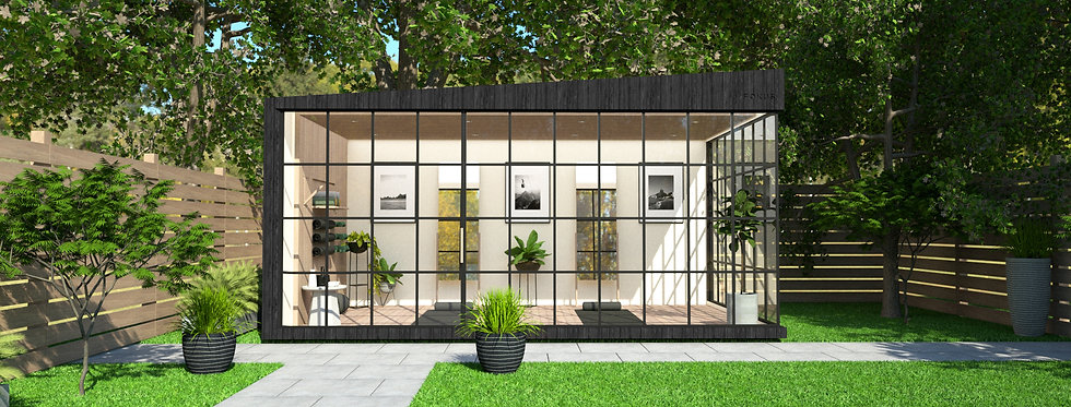 Insulated Garden Room with Crittall-style Windows | 5m x 3m