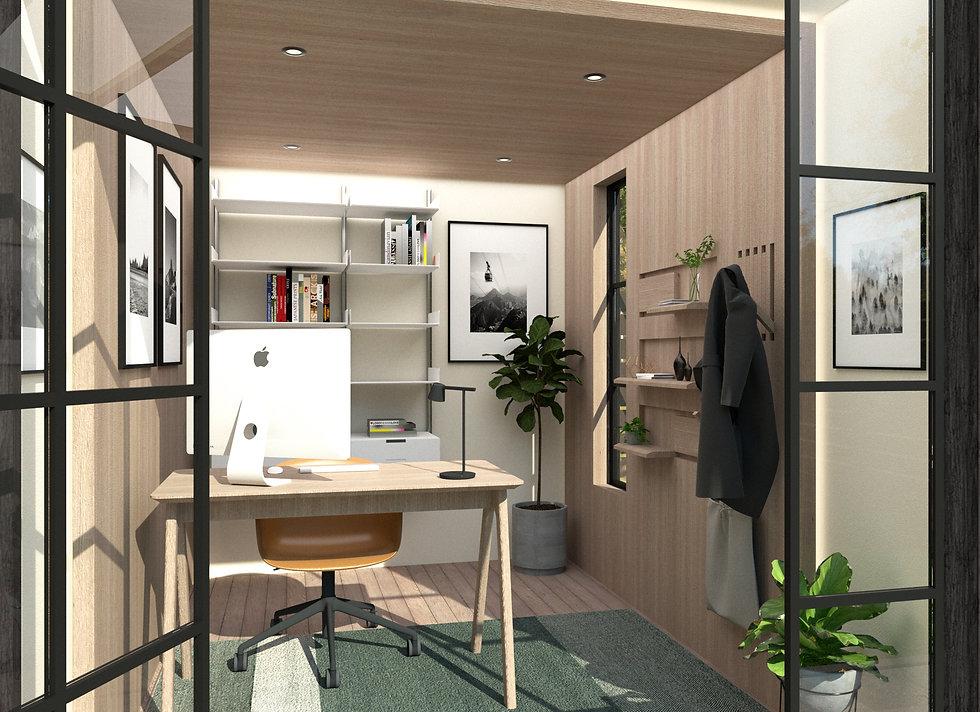 insulated garden room uk office work fro