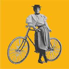 Annie Londonderry with her bicycle.png