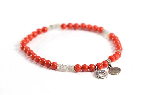 Bamboo coral TOKEN bracelet