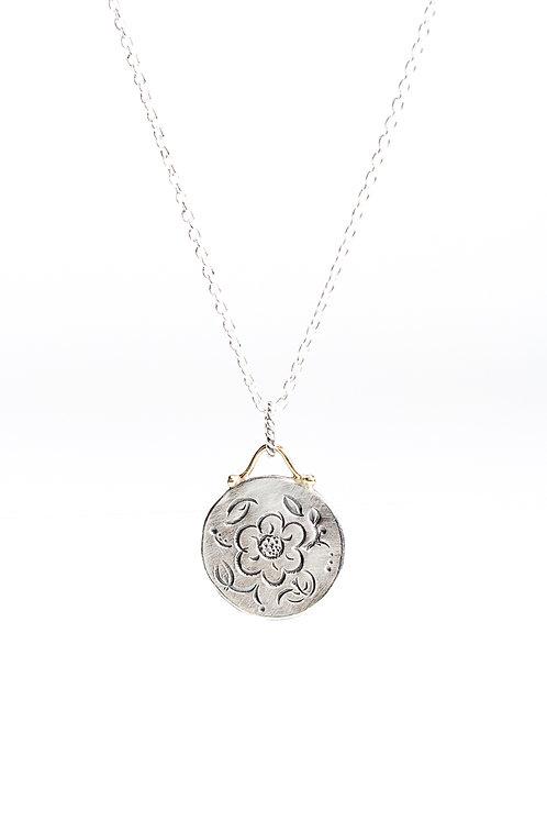 Mini MOMENTOS round necklace