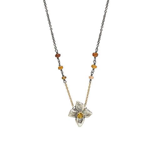 FLORET silver necklace sapphires