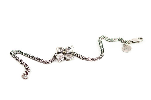 Silver FLORET bracelet
